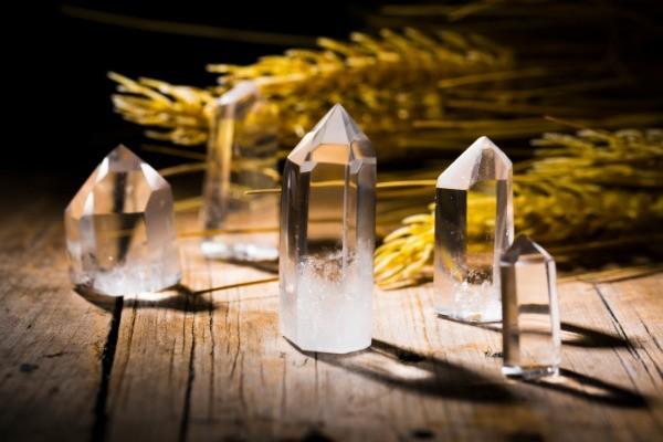 Bergkristalle-Holzboden